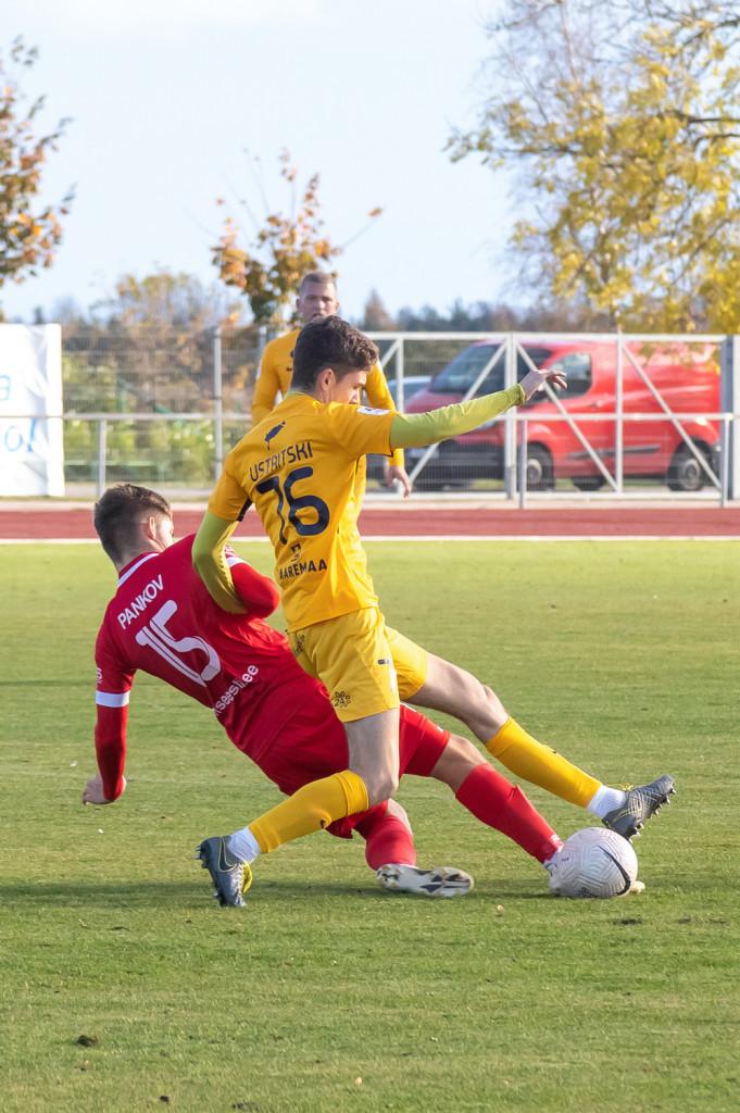 Igor Ustritski võitluses. Irina Mägi