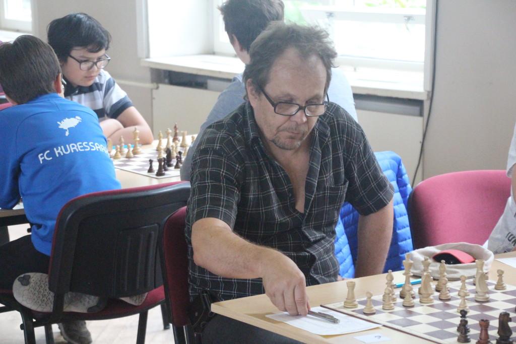 Ilkka Mustonen näitas kindlat mängu. Alver Kivi