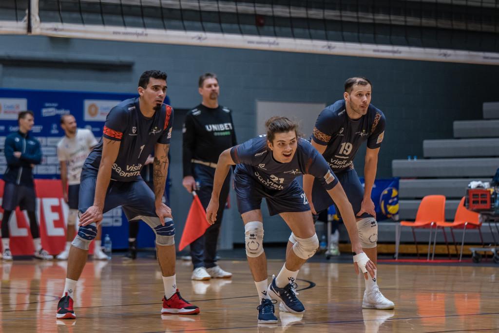Nikodem Wolanski viimases kohtumises Leedu meeskonna Amber Volleyga. Allan Mehik