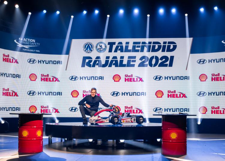 Ott Tänak noori eeskujuga innustamas. Eesti Autospordi Liit