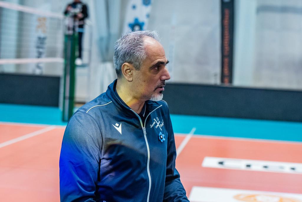Ioannis Kalmazidis tüüris Saaremaa meeskonda poolteist hooaega. Allan Mehik