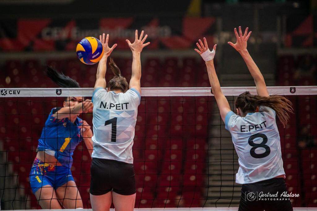 Nette Peit blokis. Gertrud Alatare/volley.ee