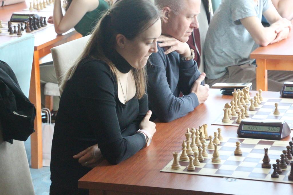 Turniiril tegi kaasa endine naiste male maailmameister Anna Ušenina. Alver Kivi