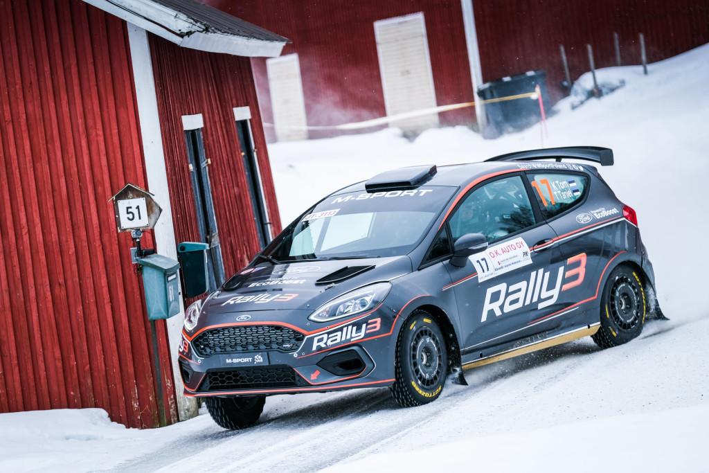 Ken Torn. FIA ERC