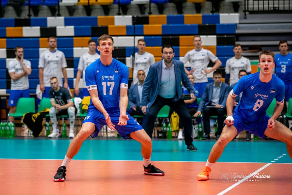 Timo Tammemaa koondises. volley.ee